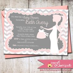 Hey, I found this really awesome Etsy listing at https://www.etsy.com/listing/119837450/chevron-printable-baby-shower-invitation