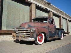 1953 Chevy truck patina