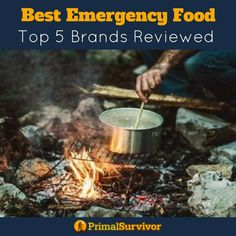 Starting an emergency food stockpile is one of the most important things you can do to get prepared. However, trying to figure out the best emergency food can be a daunting task. We have reviewed the Top 5 Survival Food brands to help you break it down to what will work for your family. #survivalfood #survivalist #prepper #primlasurvivor #freezedried #foodbuckets