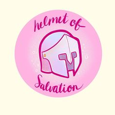 """Little Branches Paper Co on Instagram: """"#inktober2019 Helmet of Salvation!! My fave so far!!! Also one of the fastest Inktober drawings and probably my fave armour from the full…"""" Helmet Of Salvation, Papers Co, Inktober, Branches, Armour, Christian, Drawings, Illustration, Instagram"""