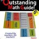 Outstanding Math Guide for Common Core Combo -- 6th-8th Grade - The Perfect Classroom Resource