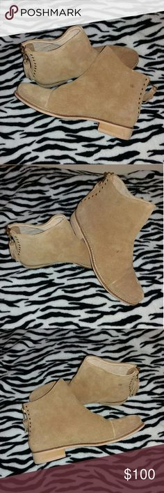 🛍pricedrop 👜 Matisse payton suede ankle boots Like new, never been used, still has tag but i dont have the box. Its clean and its been in my closet however it has little dot i dont have idea what it is but i can try to clean it... this shoes is been sold out in.nordstorm and online,, for more question comments downbelow. Make me a reasonable offer Matisse Shoes Ankle Boots & Booties