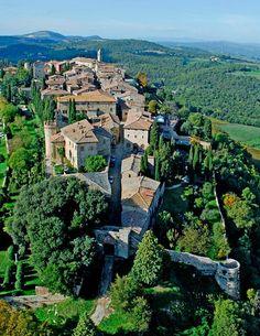 La Toscana: 35 Pueblos con encanto en Toscana!