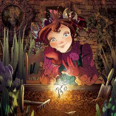FairyOak - Pervinca había sido distinta desde su nacimiento: el color del cabello, la mirada inquieta y rebelde, su familiaridad con la noche, su férrea determinación, su pasión por los animales que normalmente asustan, como las arañas, los búhos...