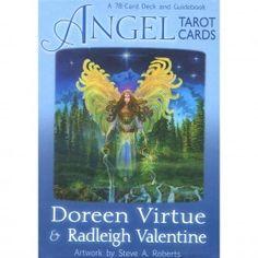 Angel Tarot Cards, Oracle WIsdom Spiritual Insight Doreen Virtue by PurusaSoul on Etsy Doreen Virtue, Deck Of Cards, Card Deck, Angel Cards, True Nature, Transform Your Life, Spiritual Growth, Guide Book, Tarot Cards