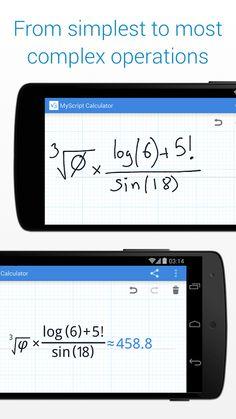 MyScript Calculator - screenshot