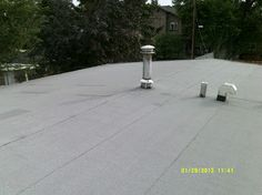 Calgary Roof Repair originally shared:   Calgary Roof Repair. #RoofRepair #Calgary. This residential client in Calgary required an inspection and quotation for a flat roof recovery using an EPDM system. The report outlines the initial inspection, scope of work, and the work progress made by our crew. Inspection, July 16, 2013:…Calgary Roof Repair - Google+