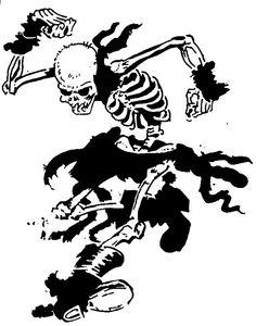 Skeleton Circle Jerk!