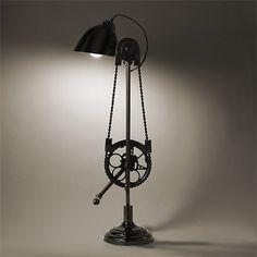 Bicycle desk lamp #Bicycle, #Lamp, #Light
