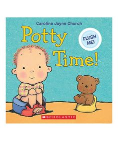 Award-winning artist Caroline Jayne Church tackles a classic toddler challenge in this playful and encouraging book complete with a flushing sound effect. Interactive Board, Potty Training Tips, Child Love, Winnie The Pooh, Disney Characters, Fictional Characters, Challenges, Board Book, Comics