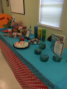 Candy Table filled with yummy Treats!!!