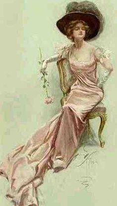 """Roses"" circa 1910"