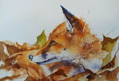 How to paint a robin in 8 easy steps. Page 2 watercolours by rachel Autumn Painting, Love Painting, Watercolor Animals, Watercolor Paintings, Watercolours, Watercolor Christmas Cards, Happy Paintings, Fox Art, Step By Step Painting