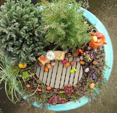 Spring / Easter in the Miniature Garden