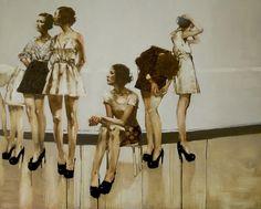 Michael Carson, 1972 | Figurative Expressionist painter | Tutt'Art@ | Pittura * Scultura * Poesia * Musica |