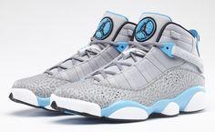 "Jordan 6 Rings ""Powder Blue"" (Official Images) | KicksOnFire.com"