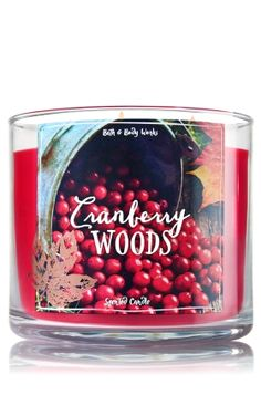 Cranberry Woods - 3-Wick Candle - Bath & Body Works - The Perfect 3-Wick…