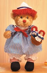 Teddy Bears with Raggedy Ann & Andy