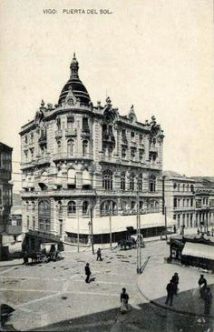 Hotel Moderno, na Porta do Sol