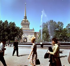 Leningrad, 1967 Socialism, Old Buildings, Soviet Union, Travel Europe, Cold War, Chess, Cities, 1960s, Russia