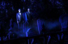 Ominous portrait in the Haunted Mansion graveyard in Walt Disney World. Photo: Ali, Disney Fine Art Photography