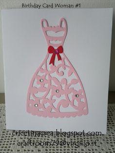 Saretta in serendipity....craftroom79: Birthday Card Woman #1