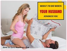 My Husband Ignores Me – Why & What Should I Do? Bottom line if your husband constantly ignores you and puts you last, your marriage is in trouble. Read this for help!