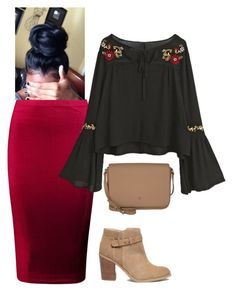 """Untitled #125"" by ohraee019 on Polyvore featuring Boohoo, Sole Society and Etienne Aigner"