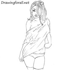 How to Draw a Beautiful Girl: http://www.drawingforall.net/how-to-draw-a-beautiful-girl/