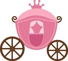 Imágenes de accesorios, carruaje, y castillo de Princesas | Imágenes para Peques Cinderella Coach, Cinderella Carriage, Dibujos Baby Shower, Castle Crafts, Sofia The First Birthday Party, Princess Crafts, Princess Cookies, Princess Party Decorations, Girls Tea Party