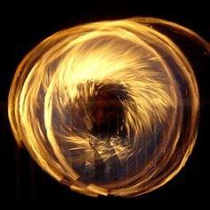 Spinning Fire Maori Poi