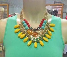 Fabulous Yellow Necklace