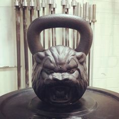 Loving these Kettlebells, women friendly sizes coming soon, or maybe I'll just get stronger!