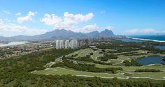 Campo Olímpico de Golfe na região da Barra, Rio de Janeiro