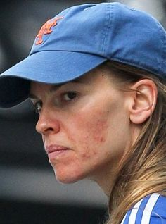 Hilary Swank No Makeup Picture