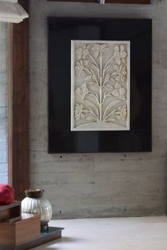 Marble floral art