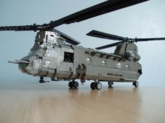 CH-47D Chinook /by Mad physicist #flickr #LEGO #chopper