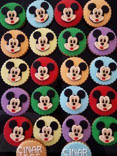 Butik Pasta Kurabiye Makaron: Mickey Mouse Kurabiye