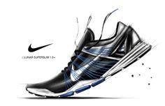 Nike Lunar SUPERSLIM 1.0+ by Dongwoo Shin, via Behance