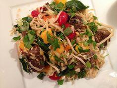 Houston's Copycat Recipe: Thai Noodle Steak Salad