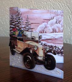 kerst vootkant kaart B