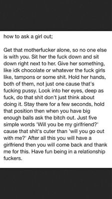 words to ask a girl out