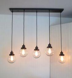 But shorter obvo Biddeford II. KROONLUCHTER lichtpunt rechthoekige door LampGoods #LampEsstisch