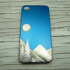Cool iPhone 4 Case. Evergreen Trees in the FULL by theraveniron, $45.00