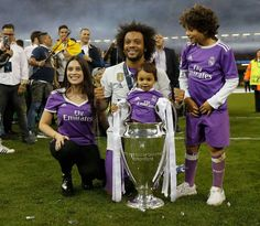 La familia Marcelo Vieira