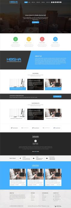 Nortech Pitch Deck Powerpoint Template | PowerPoint Templates ...