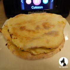 Comment résister au cheese naan fourré à La Vache Qui Rit ?