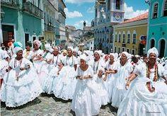 This is BRASIL with an S!  Baianas  Salvador - Bahia - Brasil