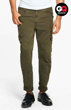 J Brand 'Trooper' Slim Lightweight Cargo Pants #Nordstrom #GQSelects