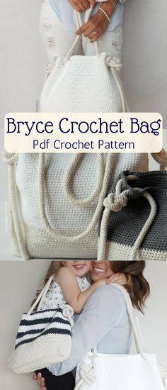 The Ryan Beach Tote Crochet Pattern Crochet Pattern Bag Diy